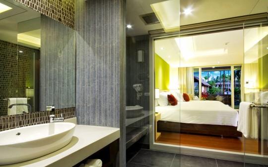 Hotel Sentido Graceland à Khao Lak en Thaïlande - salle de bain