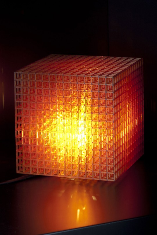Lampe cubique Open Cube MGX