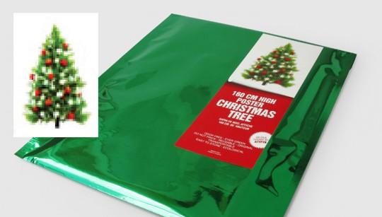 poster sapin de no l christmas tree sauvez un sapin no l. Black Bedroom Furniture Sets. Home Design Ideas