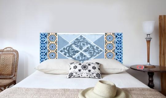 Tête de lit Mosaïques - Mademoiselle Tiss