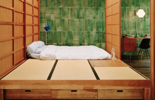 100 intérieurs autour du Monde - intérieur japonais