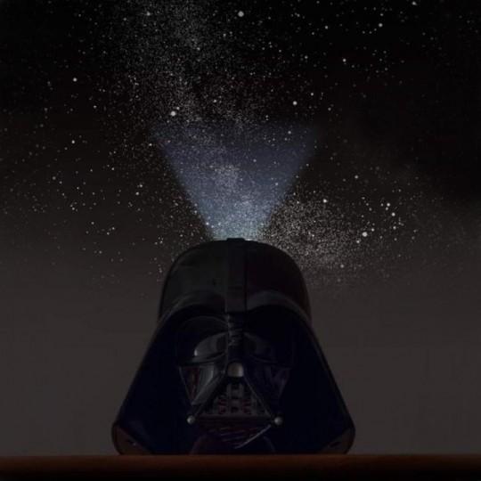 Casque Dark Vador projecteur planetarium