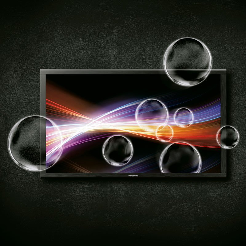 ecran tv plasma 4k panasonic 152 pouces. Black Bedroom Furniture Sets. Home Design Ideas