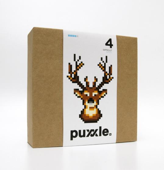 Emballage en carton recyclé Puxxle