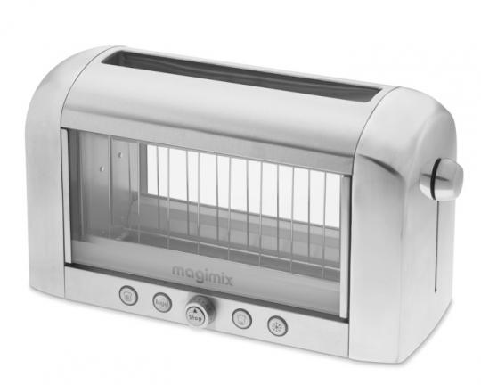 Grille-Pain en acier avec fenêtre transparente Magimix Vision
