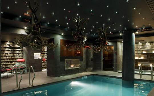 Hotel Avenue Lodge Val d'Isere - Piscine intérieure