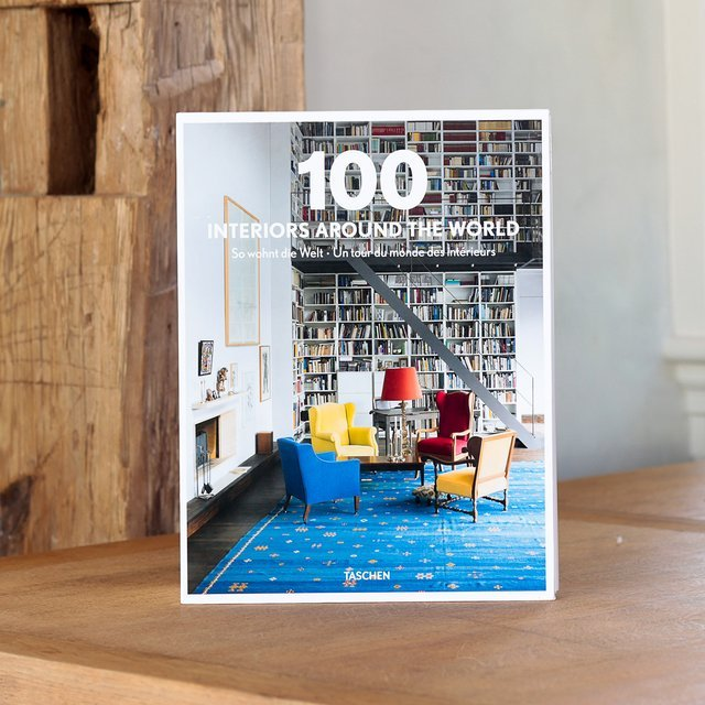 100 Interiors Around the World, un (double) livre pour découvrir de beaux intérieurs dans le monde entier