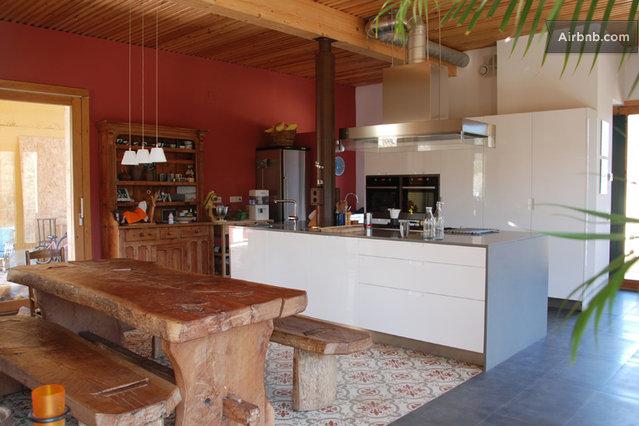Maison du 19 me si cle cuisine am ricaine for Maison ancienne cuisine moderne