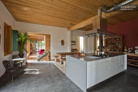 Maison du 19ème siècle - cuisine ouverte
