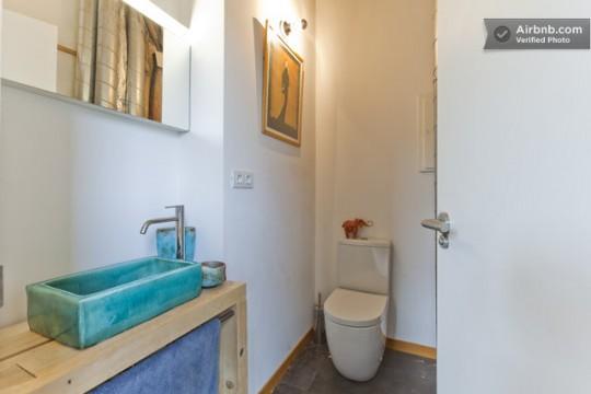 Maison du 19ème siècle - salle de bain
