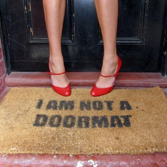 Paillasson I am not a doormat