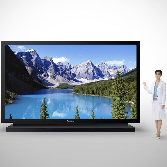 Enorme : TV Plasma Panasonic de 152 pouces (386 cm de diagonale !)