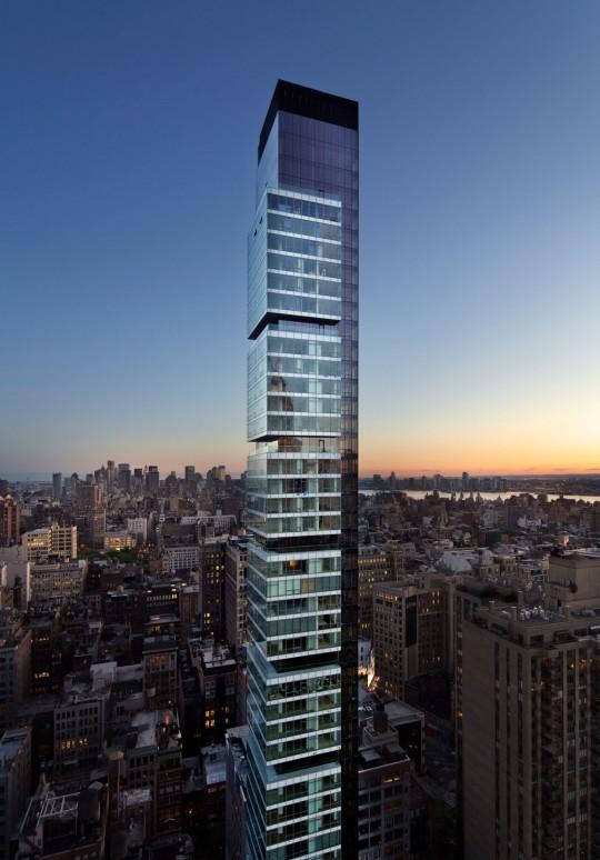 Appartement Rupert Murdoch Manhattan - Gratte-ciel en verre