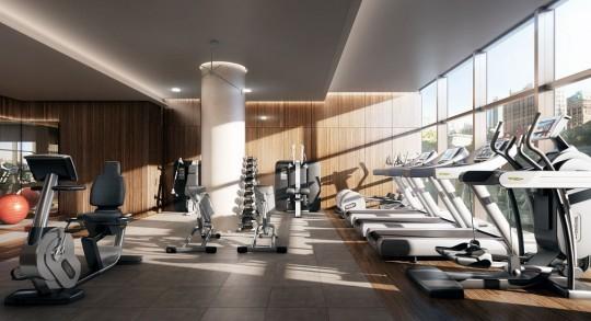Appartement Rupert Murdoch Manhattan - salle de sport