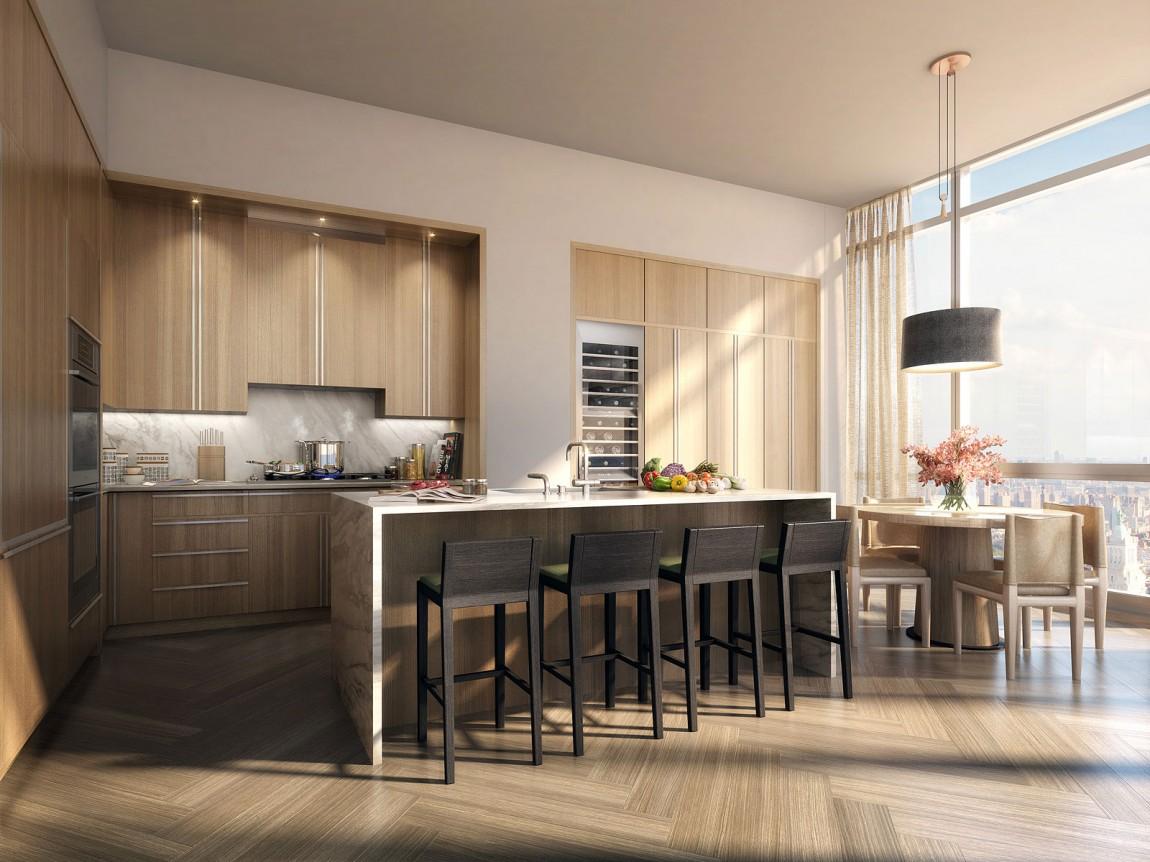 Appartement Rupert Murdoch New-York - cuisine américaine