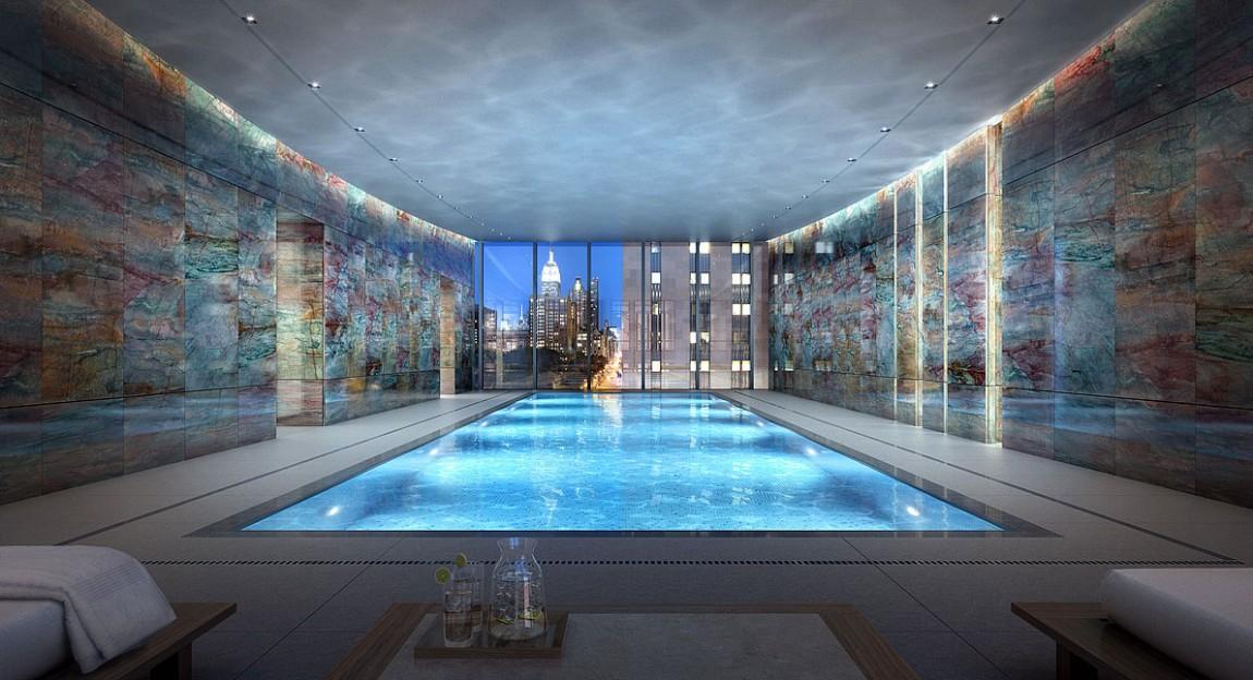 Appartement rupert murdoch new york piscine int rieure for La piscine new york