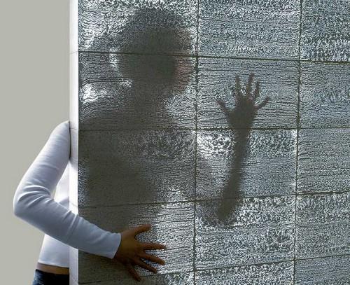 Béton transparent