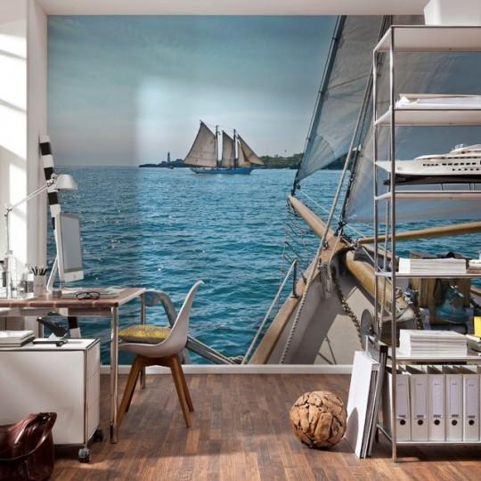 Décoration murale photo vue sur mer