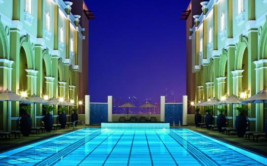 Hötel Mövenpick Ibn Battuta Gate - Dubai - cour intérieure