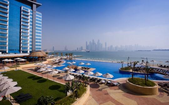 Hötel Mövenpick Ibn Battuta Gate - Dubai - piscine géante