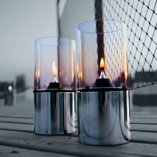 Lampe huile stelton par erik magnussen - Lampe a huile design ...