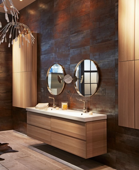 Meuble de salle de bain suspendu ikea gormorgon odensvik for Ikea canada salle de bain