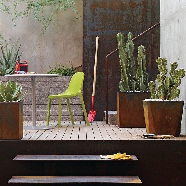 Planterworx : Les pots de fleurs conçus avec l'acier des gratte-ciels