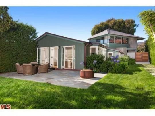 Propriété de Leonardo DiCaprio à Malibu - maison avec terrasse