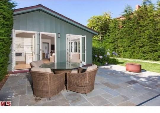 Propriété de Leonardo DiCaprio à Malibu - salon de jardin
