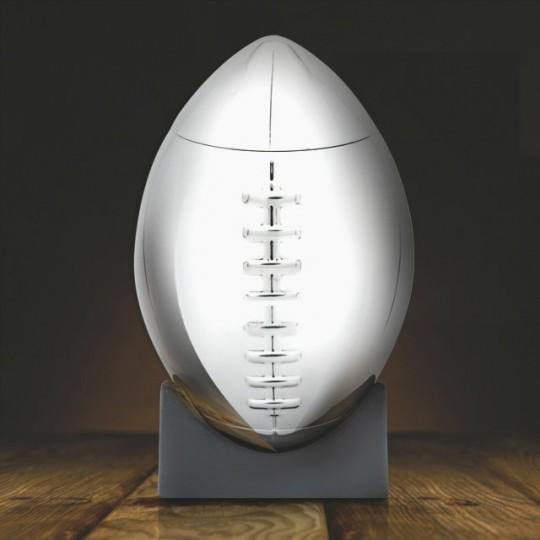 Shaker ballon de football américain en acier