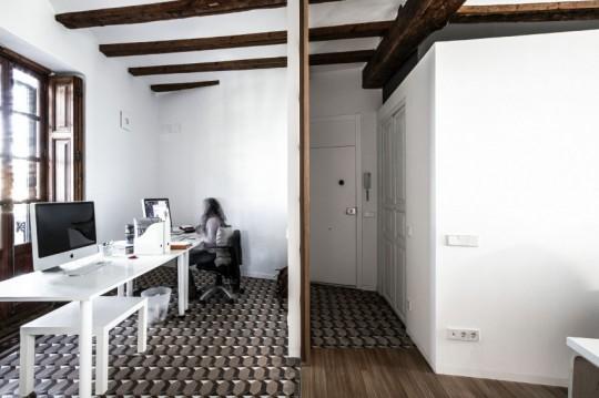 Appartement rénové El Carmen à Valence en Espagne