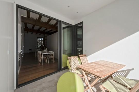 Appartement rénové El Carmen à Valence en Espagne - terrasse