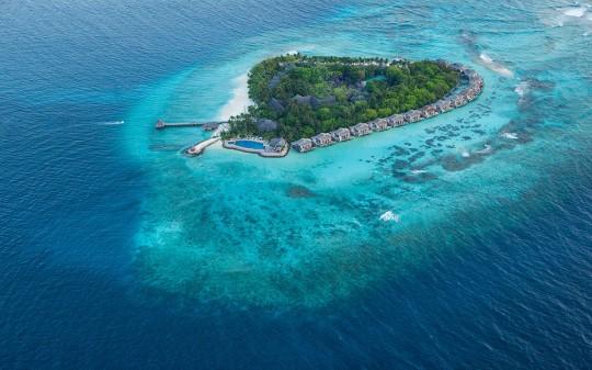 Hotel Vivanta by Taj Coral Reef aux Maldives