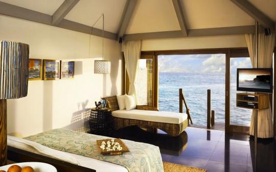Hotel Vivanta by Taj Coral Reef aux Maldives - chambre avec vue sur mer