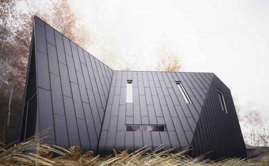 Maison en forme de triangle