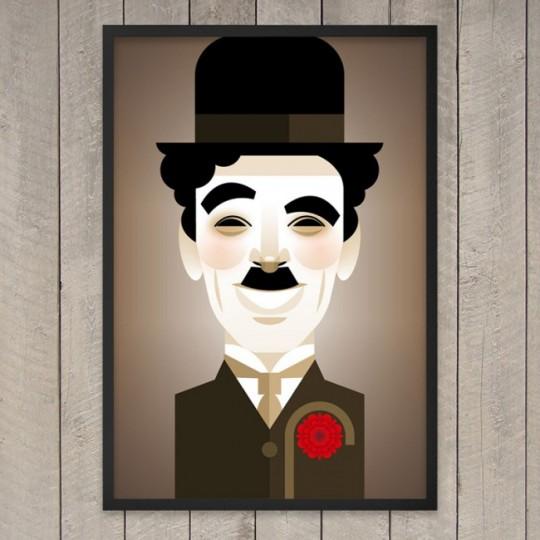 Tableau Charlie Chaplin