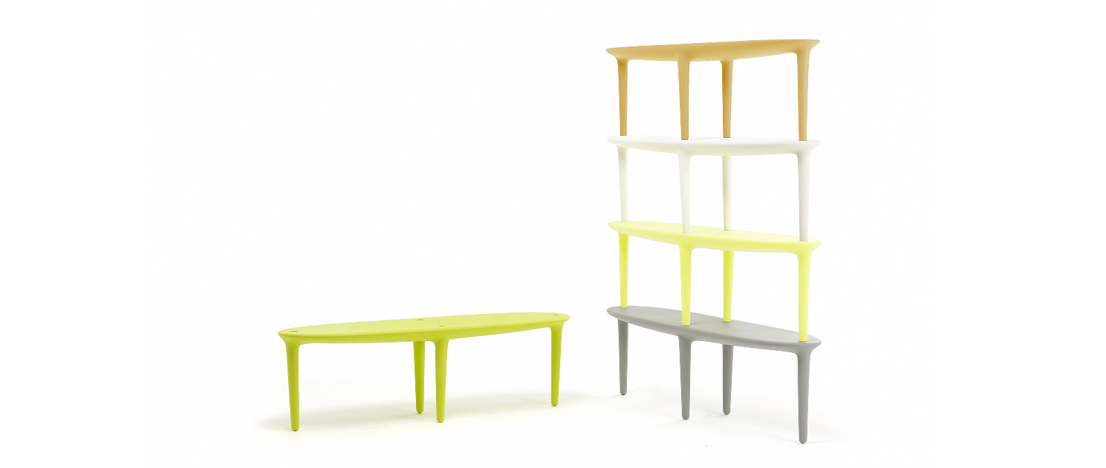 captain surf table basse empilable biblioth que tog. Black Bedroom Furniture Sets. Home Design Ideas