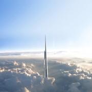 Kingdom Tower - un gratte-ciel dans les nuages