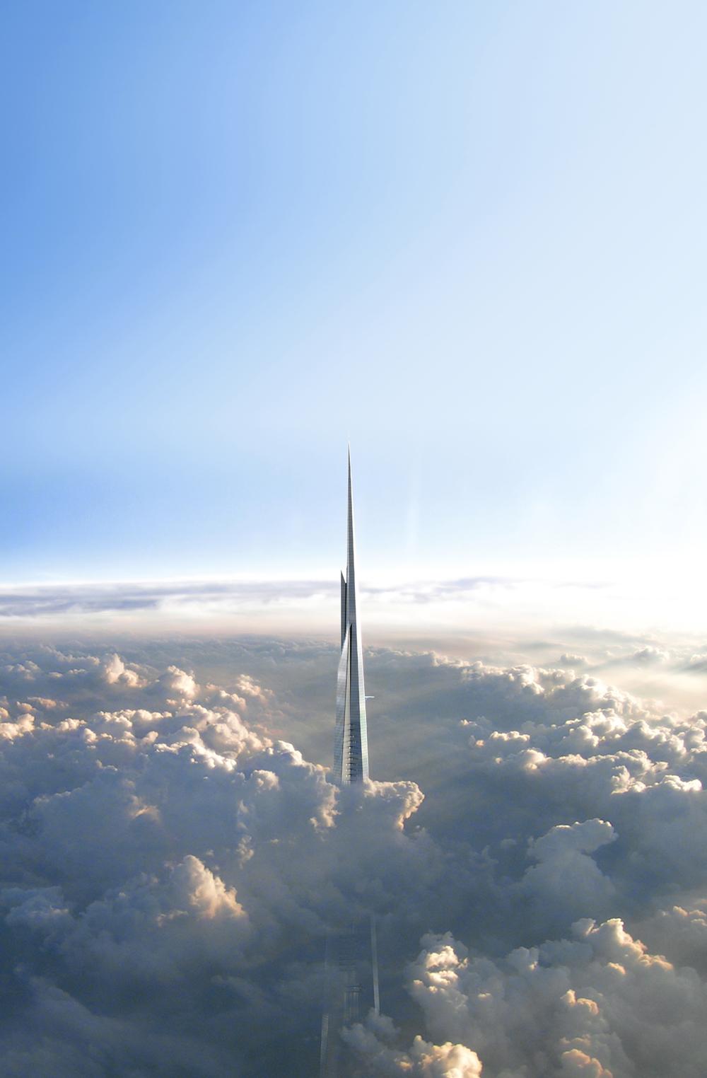 Kingdom Tower : La Plus Grande Tour du Monde fera 1000 mètres de haut