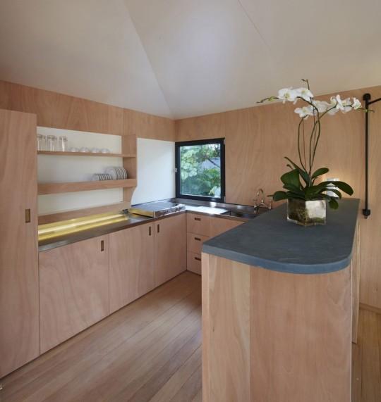 La Maison au bord de l'eau by Charlotte Perriand & Louis Vuitton cuisine