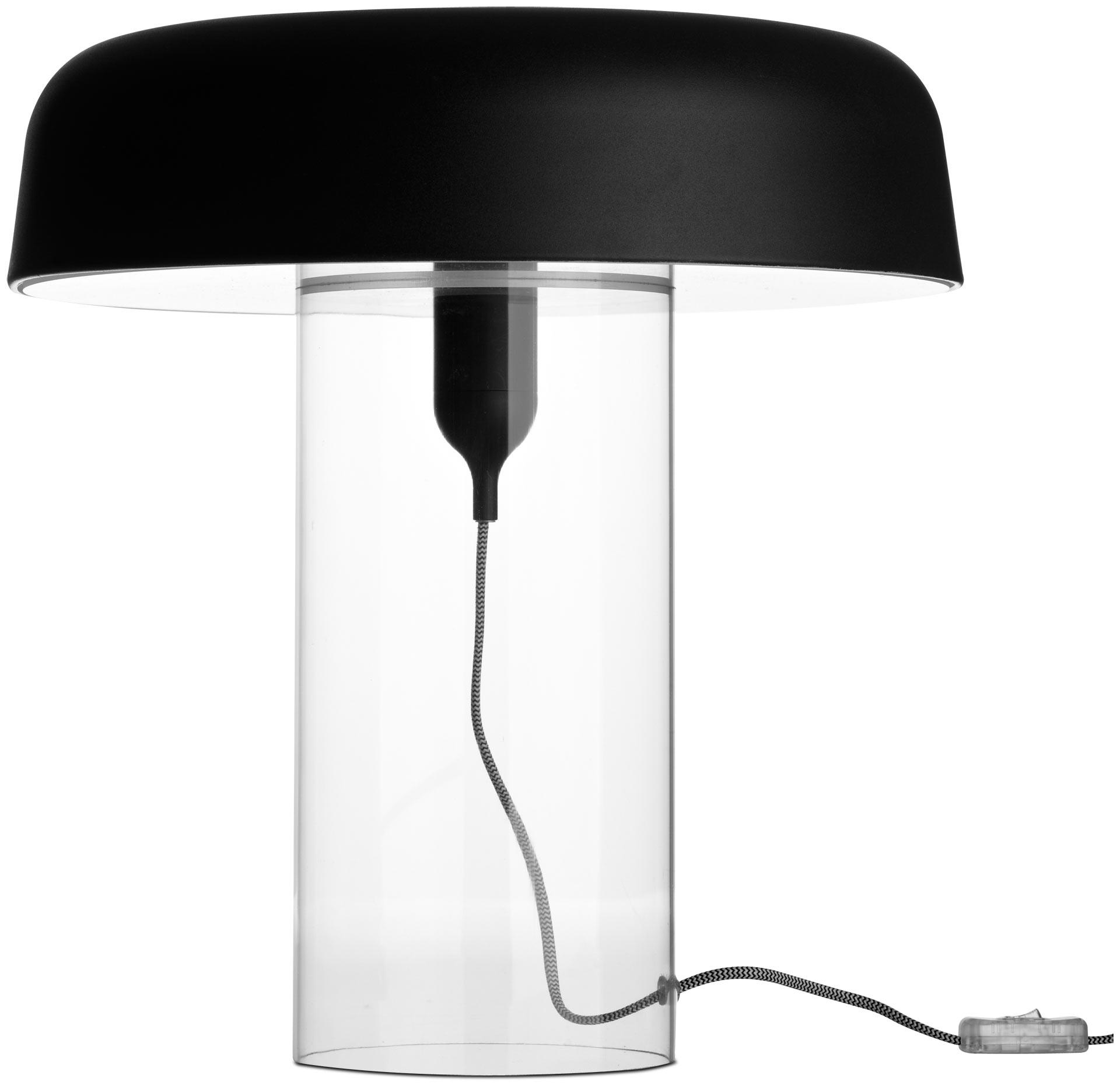 BoConcept Goble : Lampe de table design avec un pied transparent