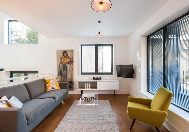 Maison contemporaine londres salon - Magasin decoration interieur maison ...