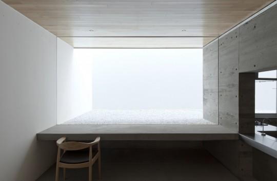 Maison sans fenêtres - bureau