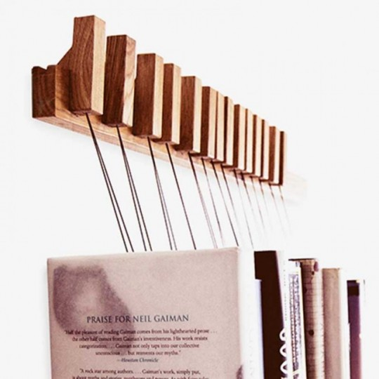 Patère pour livres Book Rack Agustav