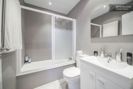 Penthouse à louer à Barcelone - Salle de bain