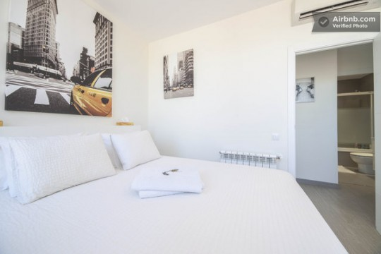 Penthouse à louer à Barcelone - Suite parentale