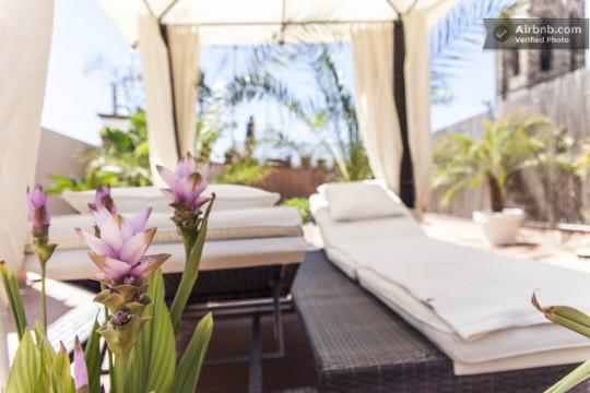 Penthouse à louer à Barcelone avec magnifique terrasse