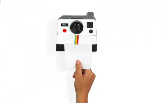 Polaroll- polaroid dévidoir à papier toilette