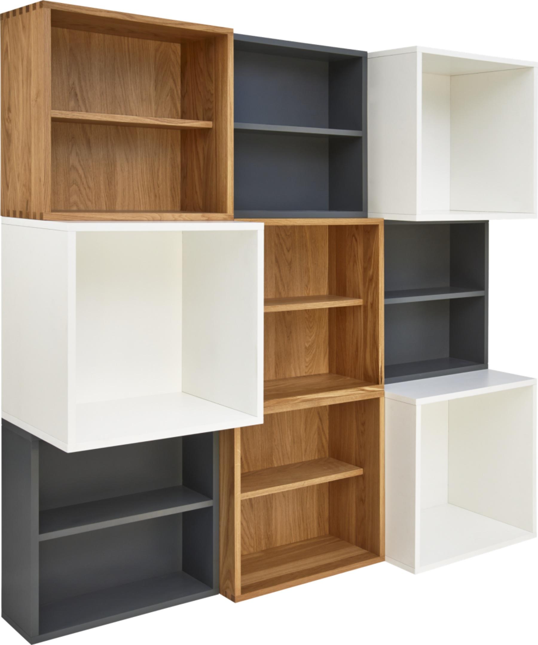 rangement modulaire brick habitat. Black Bedroom Furniture Sets. Home Design Ideas