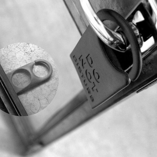 Do not disturb : La plaque de porte pour ne plus être dérangé !